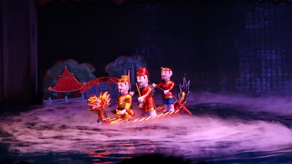 In the Thang Long Water Puppet Theater