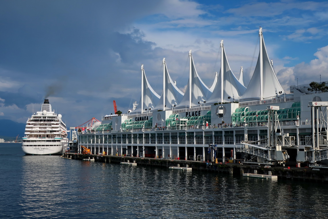 Cruise port of Vancouver