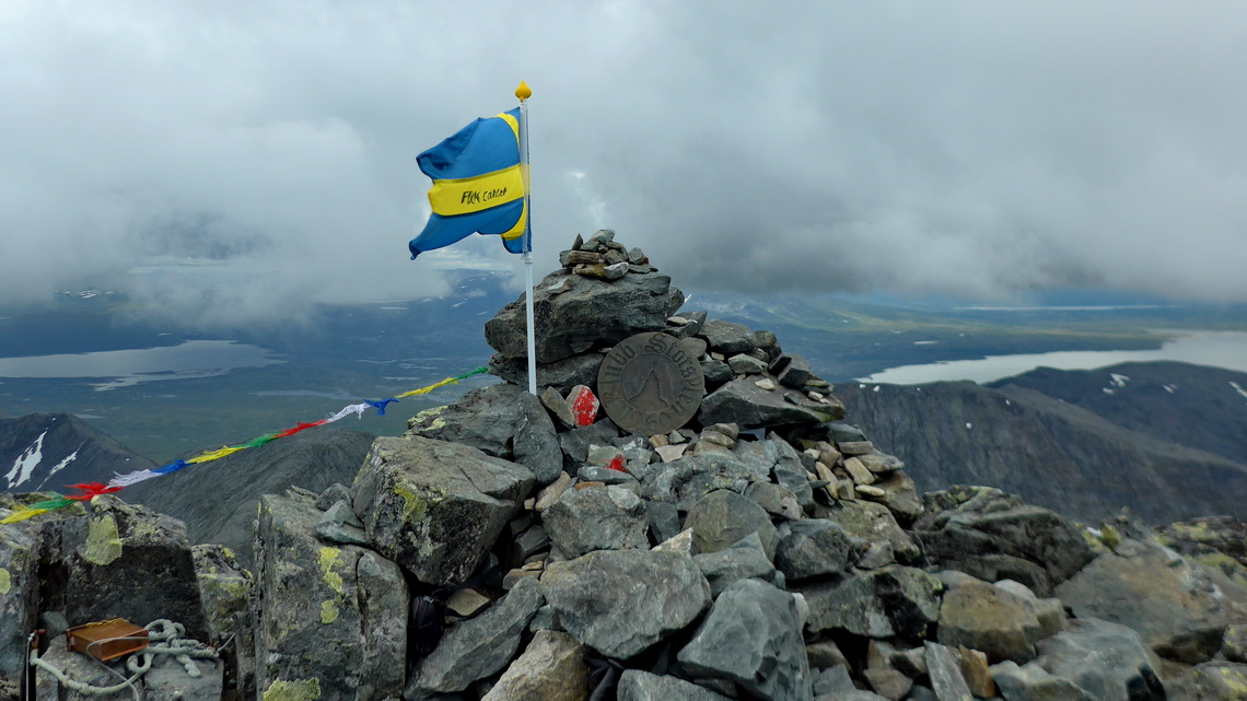 Summit of Storsylen