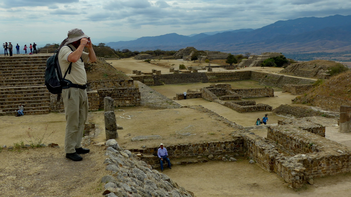 In the ancient Zapotec capital Monte Alban
