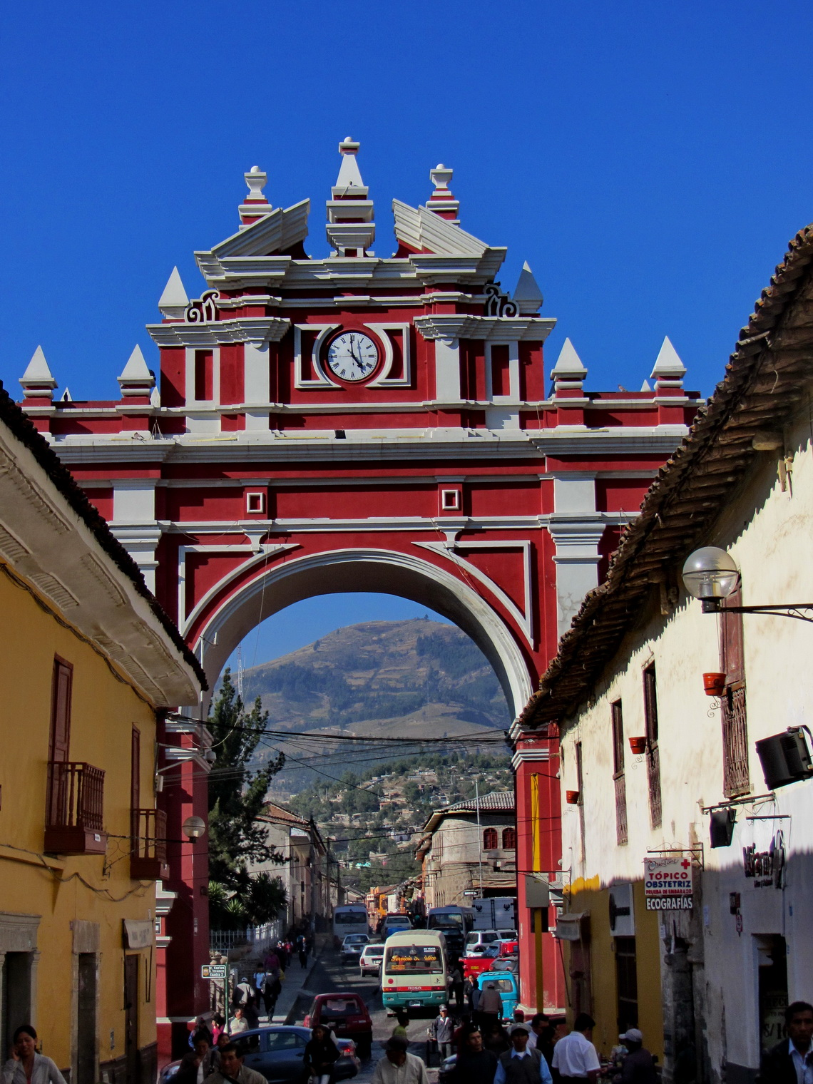 Arch of triumph in Ayacucho