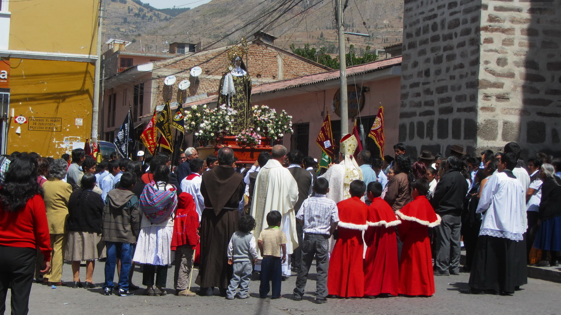 Festival of the patron saint Virgin Santa Clara