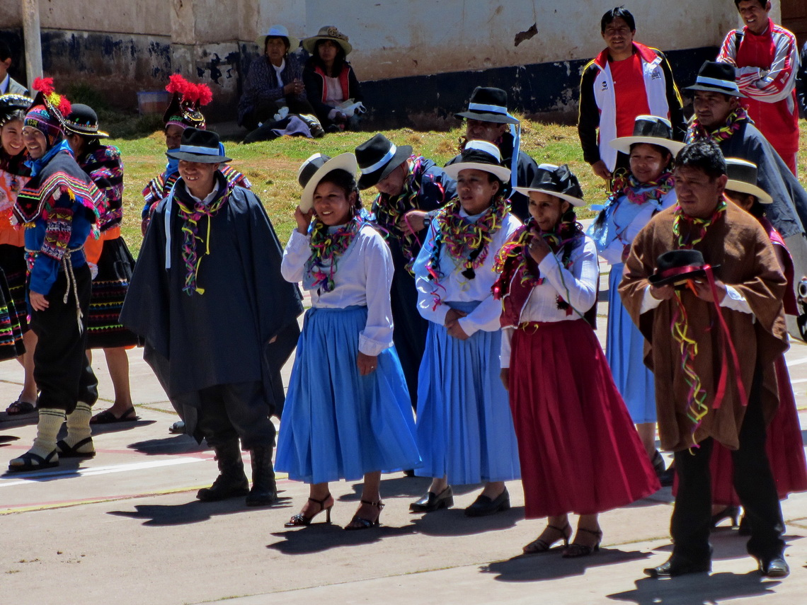 Fiesta in Cachillallas (between Huancavelica and Huancayo)