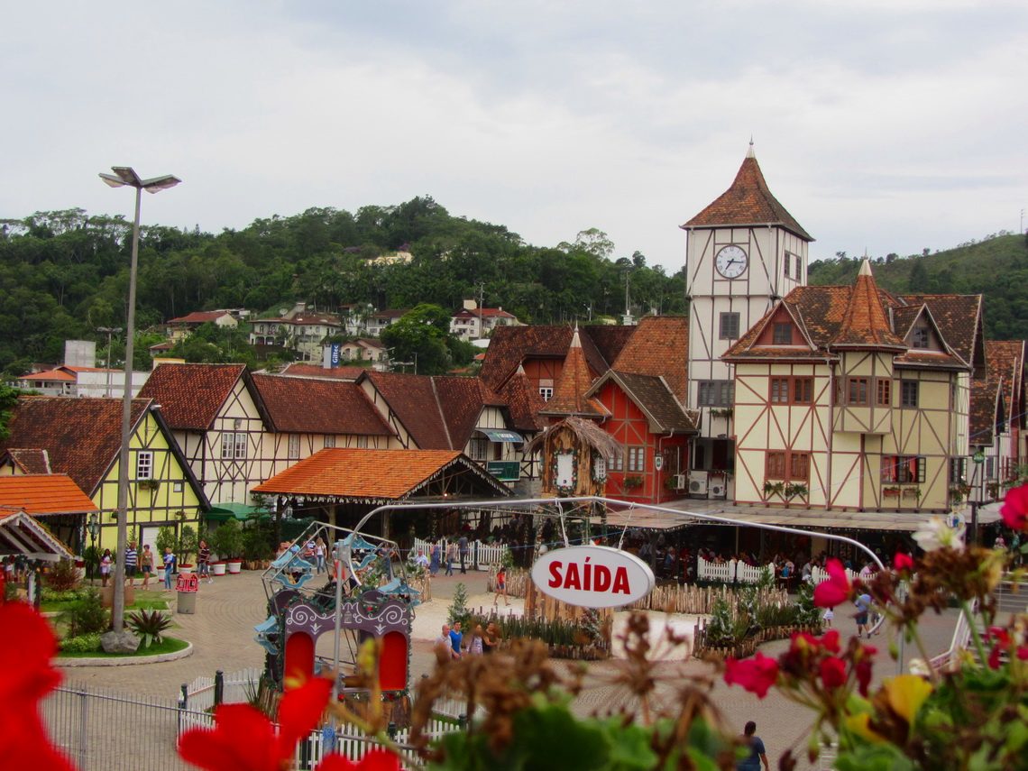 The Oktoberfest Parque Vila Germanica in Blumenau