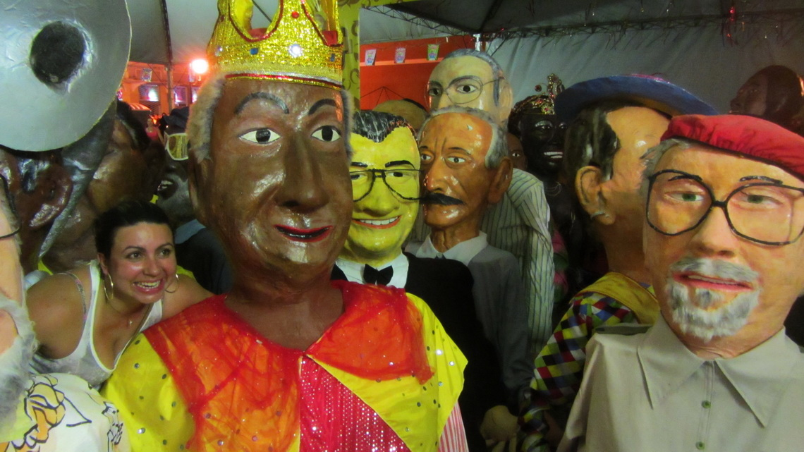 Some of the large carnival dolls