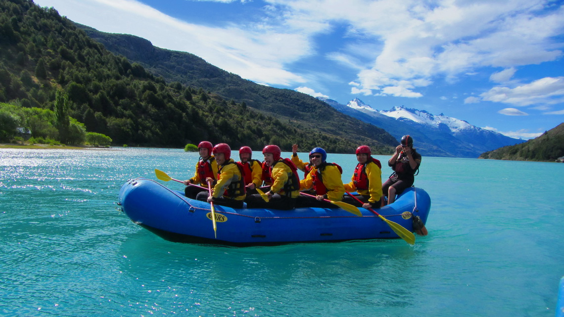 Rafting on Rio Baker