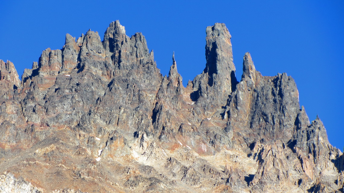Some of the pinnacles of Cerro Castillo