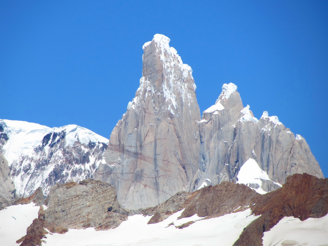 Northeast face of Cerro Torre