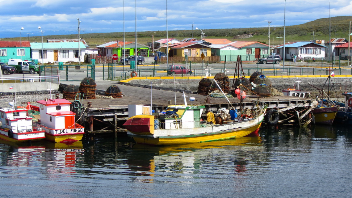 Our first impression of Tierra del Fuego