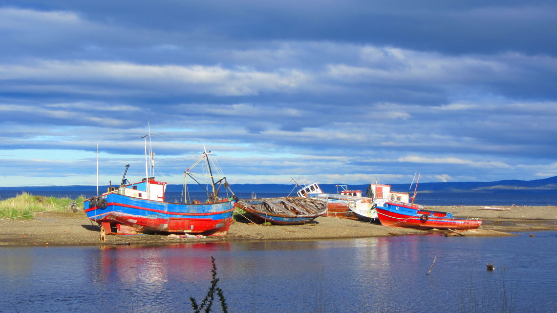 Fishing boats of Puerto San Juan