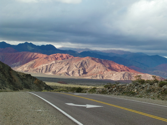 The colors of the Andes