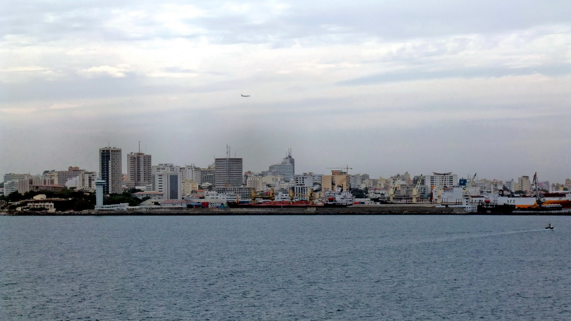 Skyline of Dakar