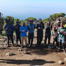 Our team on Kilimanjaro which did a splendid job