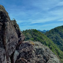 Summit rocks of 626 meters high Chom Prasat 2
