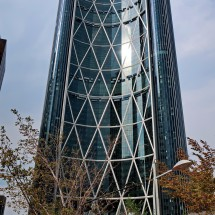 236 meters high skyscraper - The Bow built in 2011