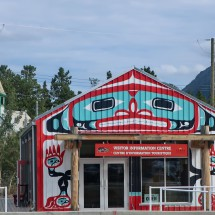 Visitor Center of Carcross