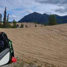"""Little Sahara"" north of Carcross"