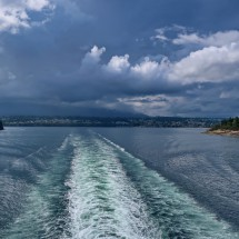 Leaving Vancouver Island