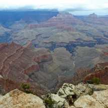 Grand Canyon seen from Shoshone Point