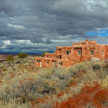 Painted Desert Inn on the northern entrance of Petrified Forst