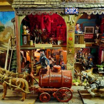Wild West station in Tinkertown