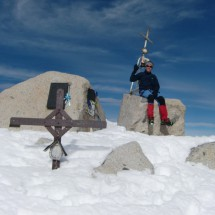 Cross of Monte Adamallo and memorials of the bloody war between Austria and Italy
