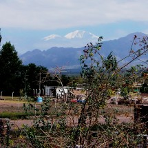 Cerro Plata from the outskirts of Mendoza - More than 5000 meters vertical distance!