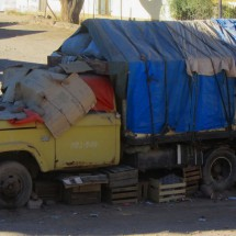 Truck in Tupiza
