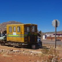 Old railway between Potosi and Sucre