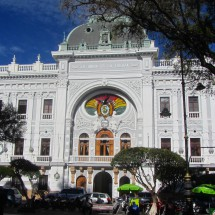 Old Parliament of Bolivia in Sucre