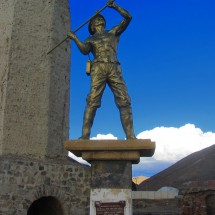 Miner close to Oruro