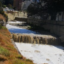 Waste water of La Paz
