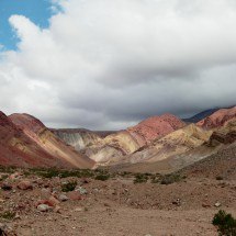 Beautiful colors of the Andes