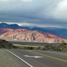 The very good road on the Argentine side of Paso San Francisco