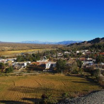 The little town Cachi seen from its graveyard