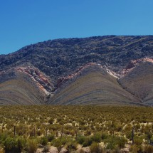 Landscape on the Ruta 9 / 40 between Abra Pampa and La Quiaca