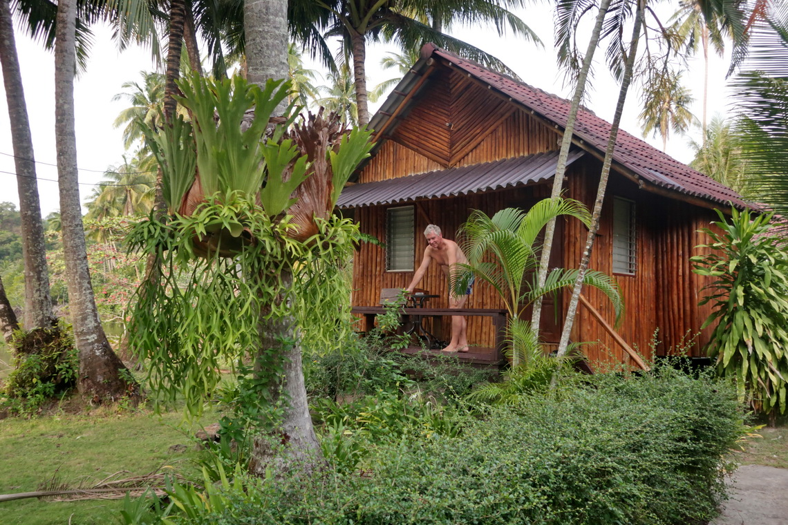Our little cottage in the Neverland Beach Resort