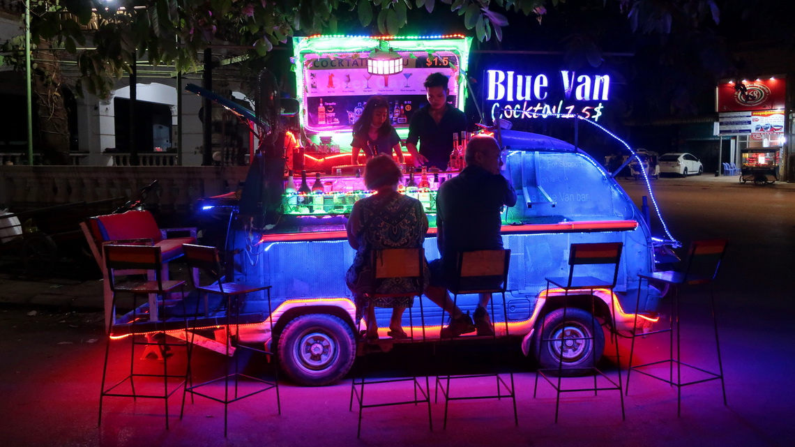 Nice bar in the center of Siem Reap