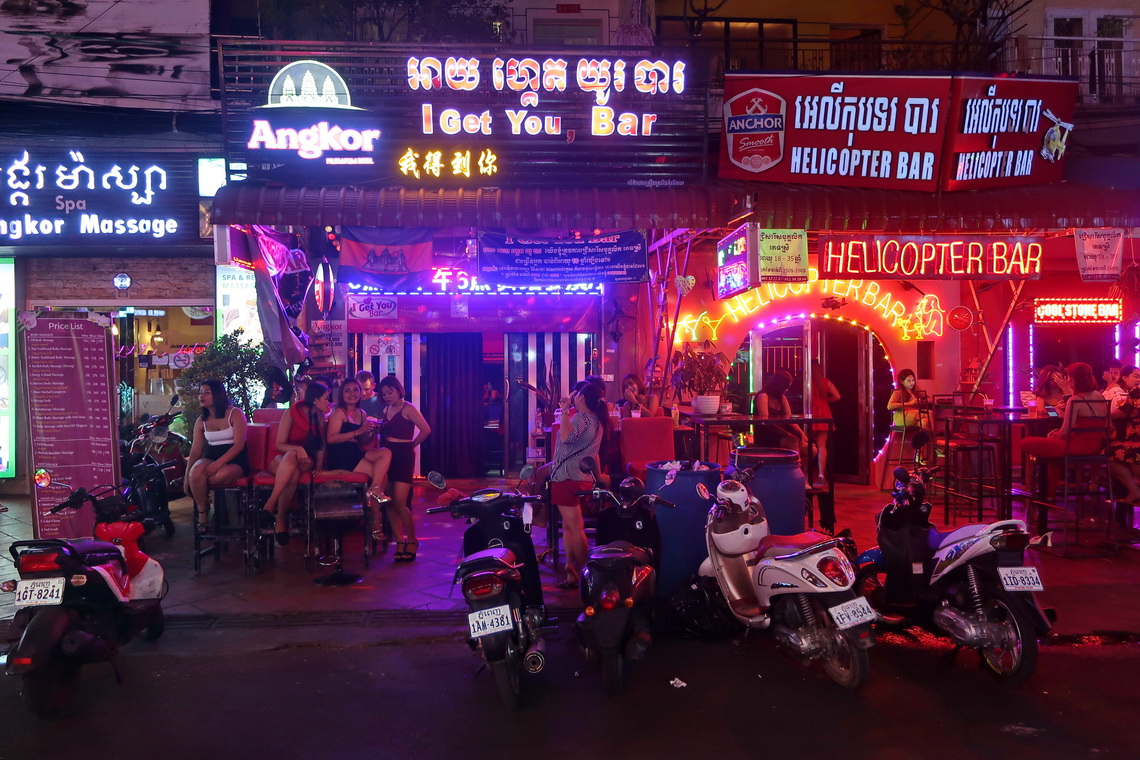 Nightlife of Phnom Penh