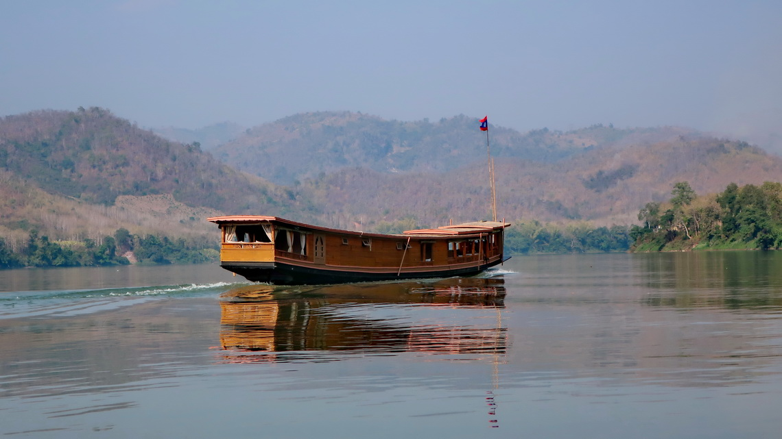 Barge on Mekong