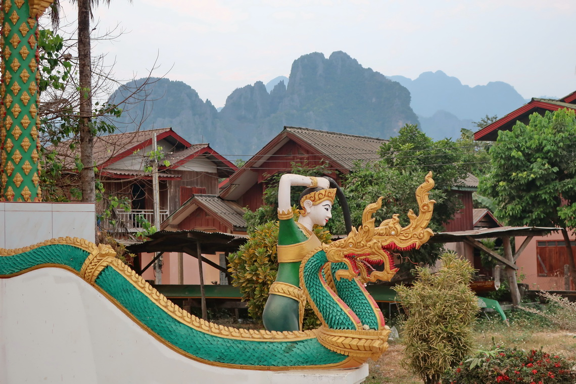 Thorani Earth Goddess in Vang Vieng