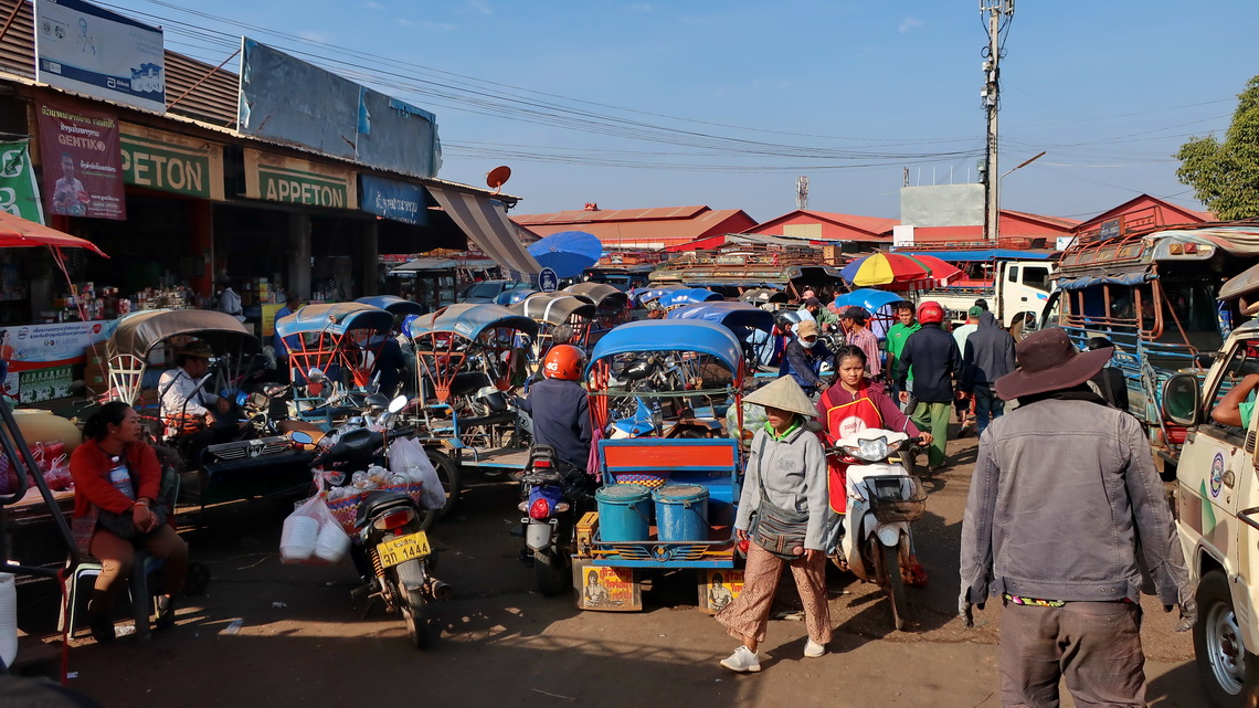 Main market of Pakse