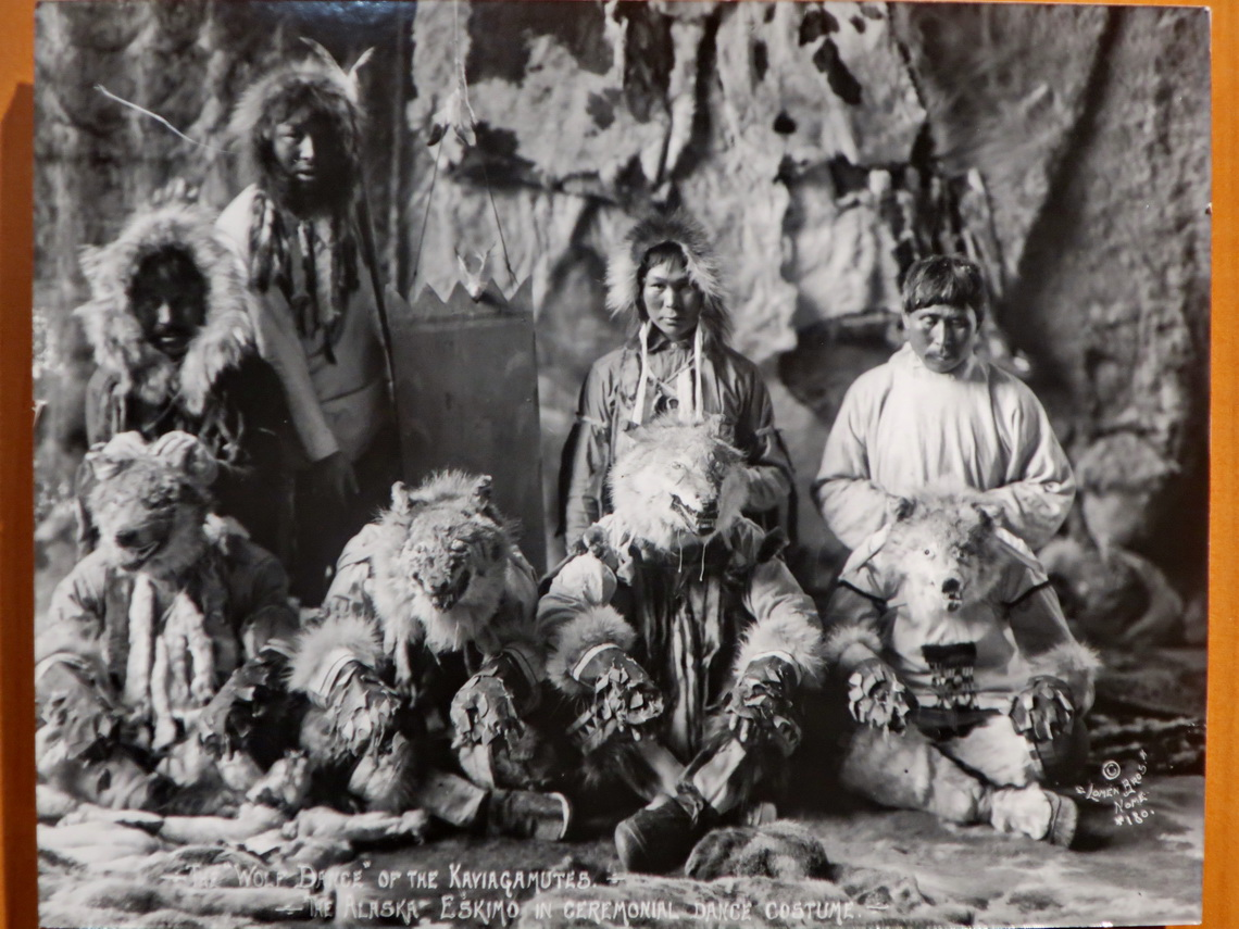 The Wolf Dance of the indigenous Tlingit people of 1917