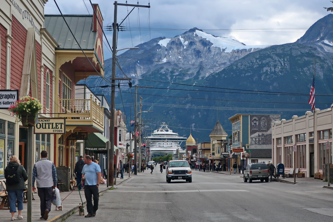 Main street of Skagway