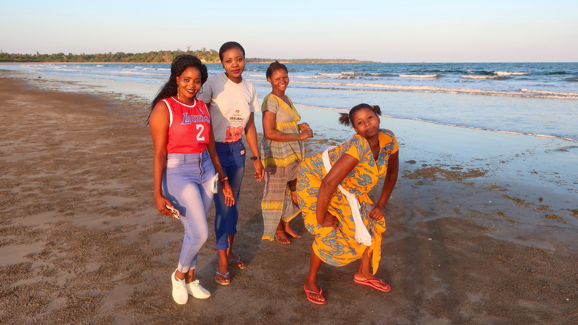 Happy girls of Pangani