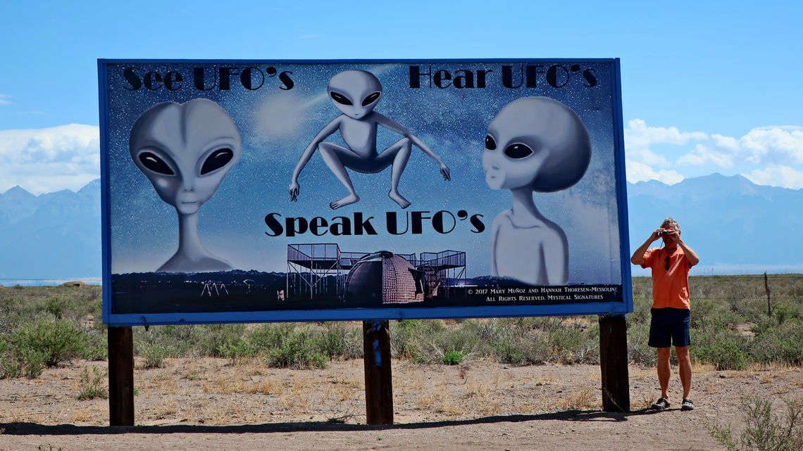 UFO's in the Sangre de Cristo Mountains?