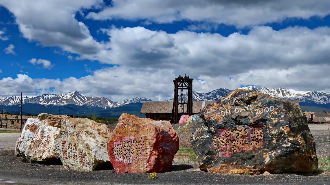Mine south of Leadville