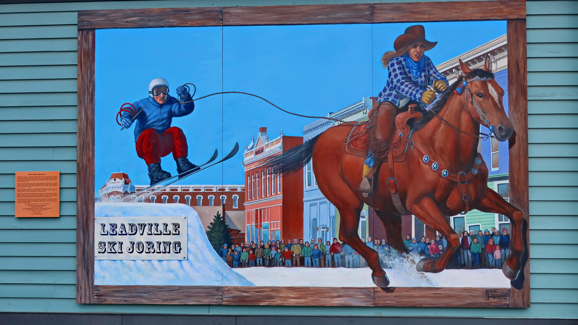 Mural in Leadville