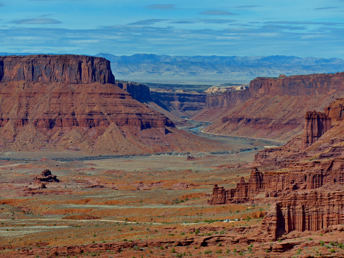 Colorado River seen from the photopoint