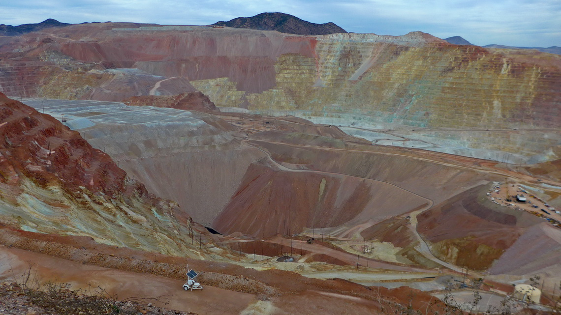 Morenci Copper Mine close to Clifton